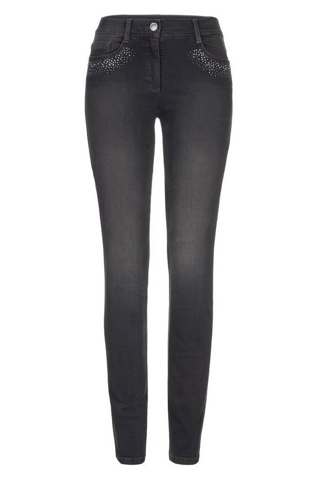 BRAX Jeans »SHAKIRA DIAMOND« in GRAPHIT