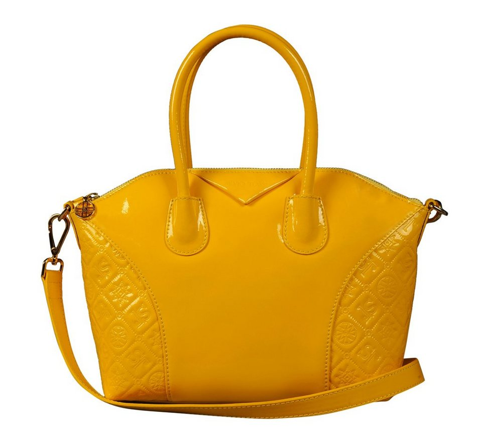 Silvio Tossi Handtaschen in kanariengelb