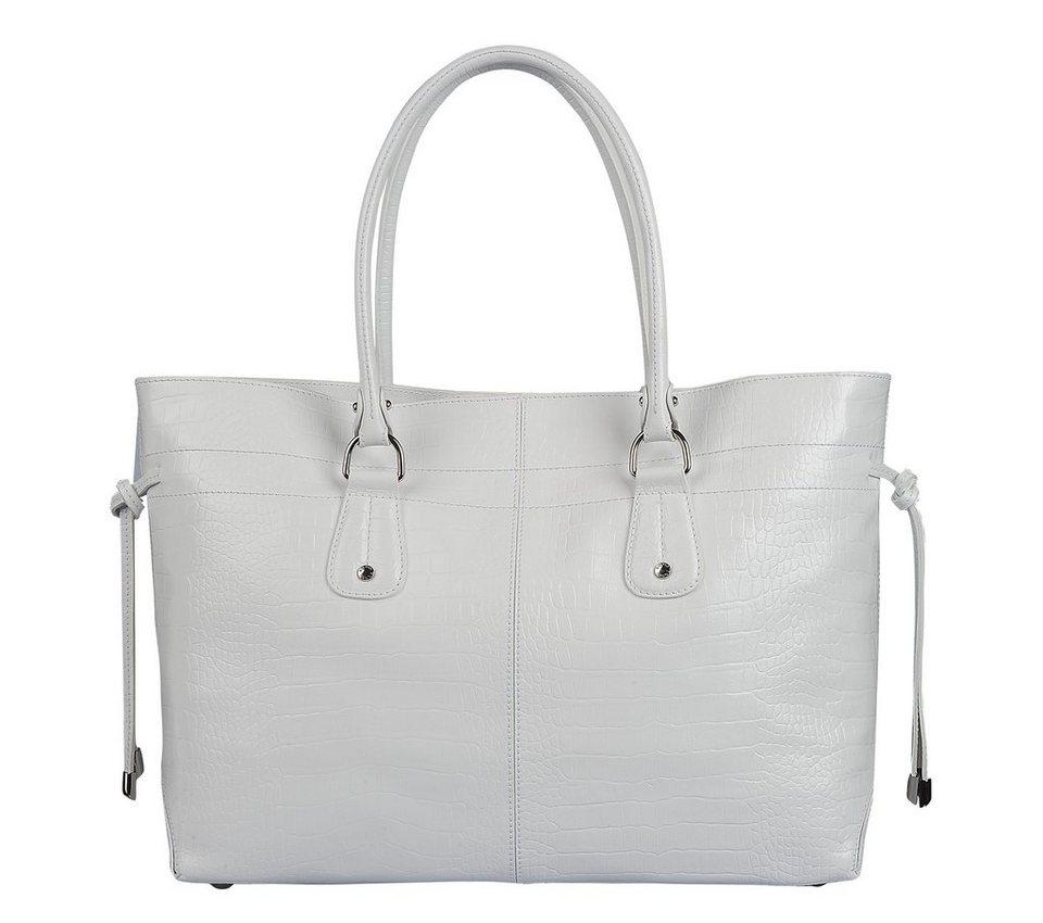 Silvio Tossi Handtaschen in weiss