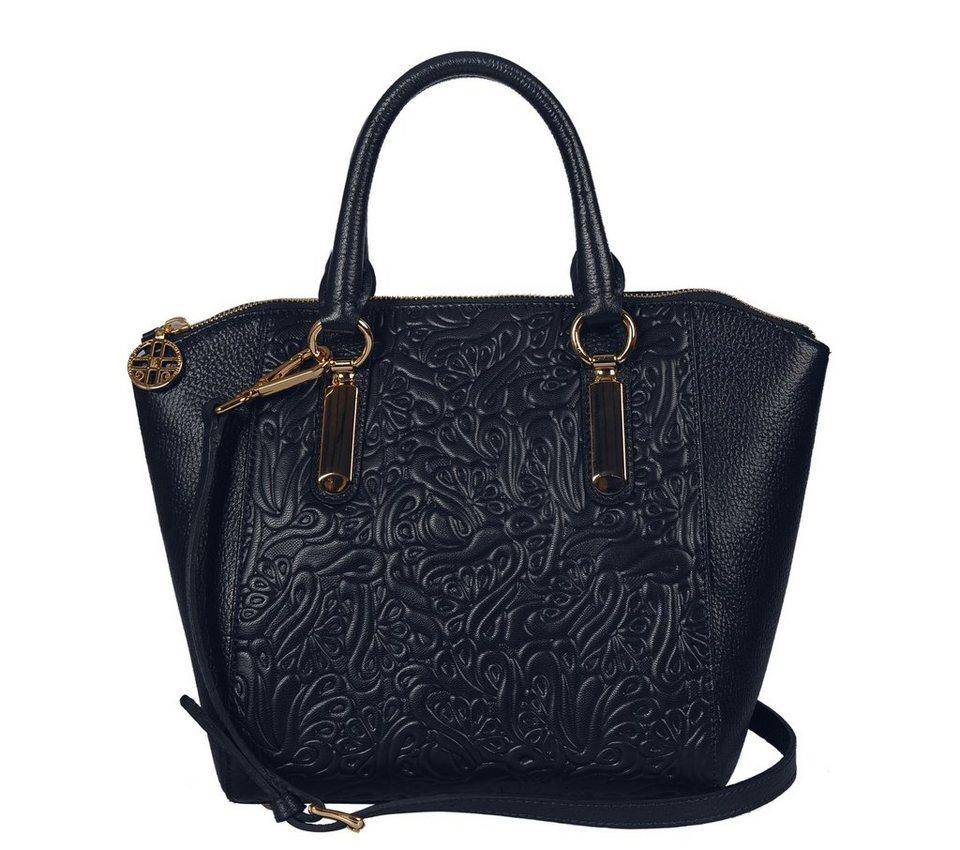 Silvio Tossi Handtaschen in dunkelblau