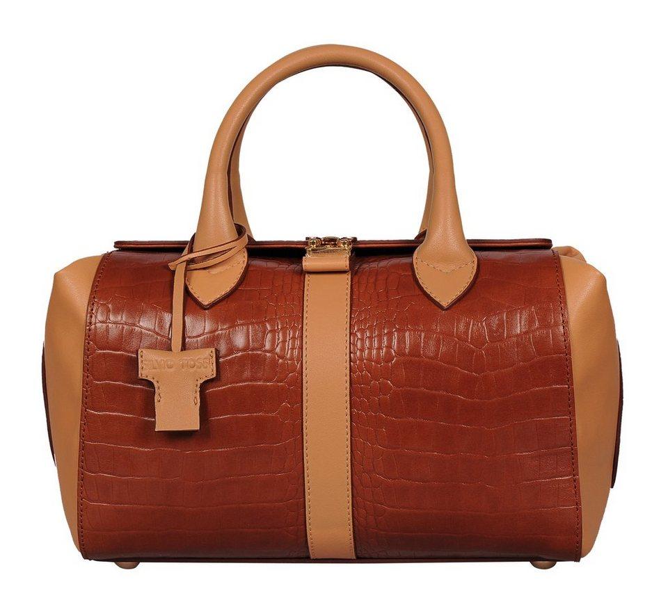 Silvio Tossi Handtaschen in whisky-kamelhaarfarbe
