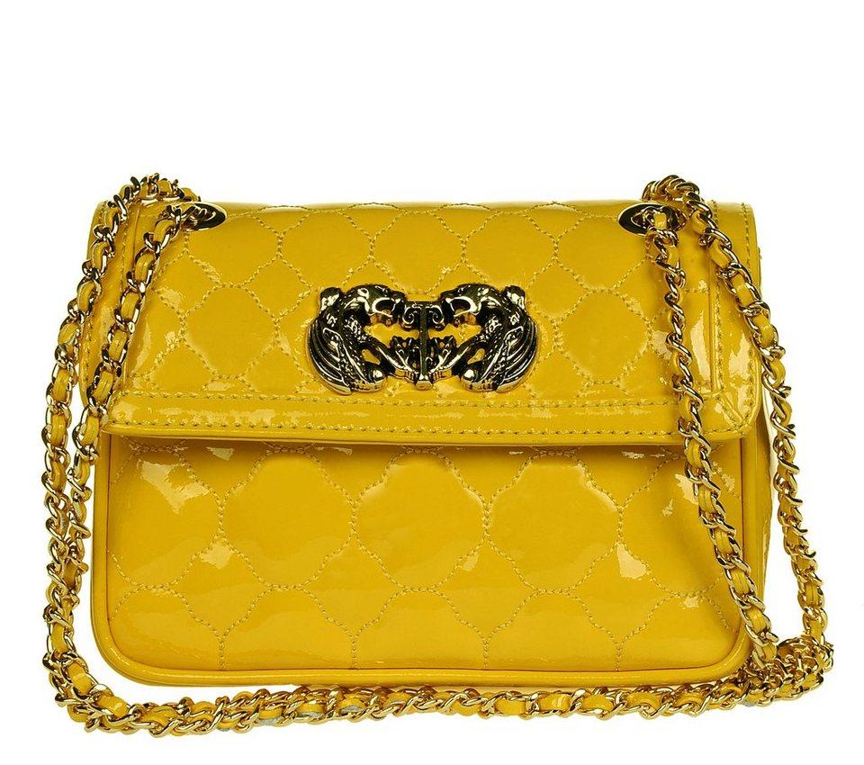 Silvio Tossi Handtaschen in kanariengelb-lackiert