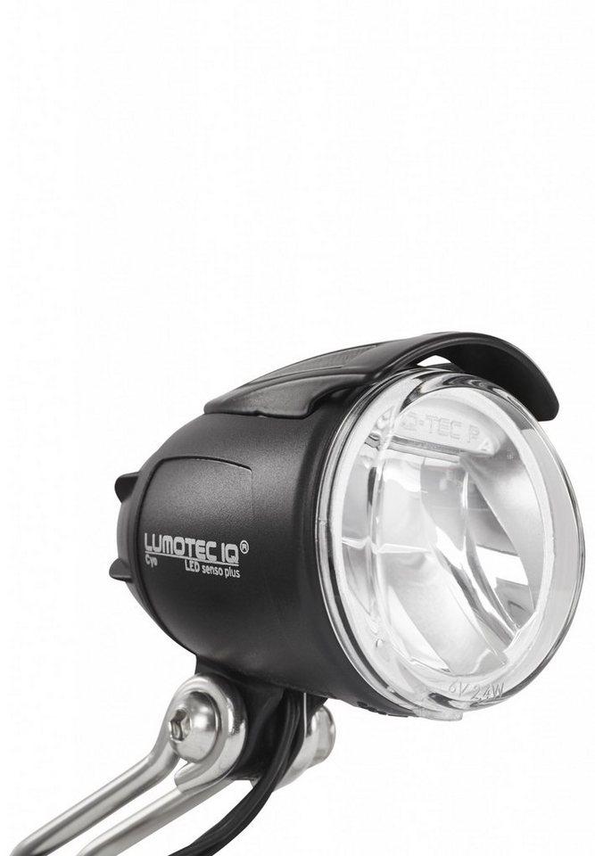Busch + Müller Fahrradbeleuchtung »Lumotec IQ Cyo 12/42V-DC LED-Scheinwerfer schwarz«