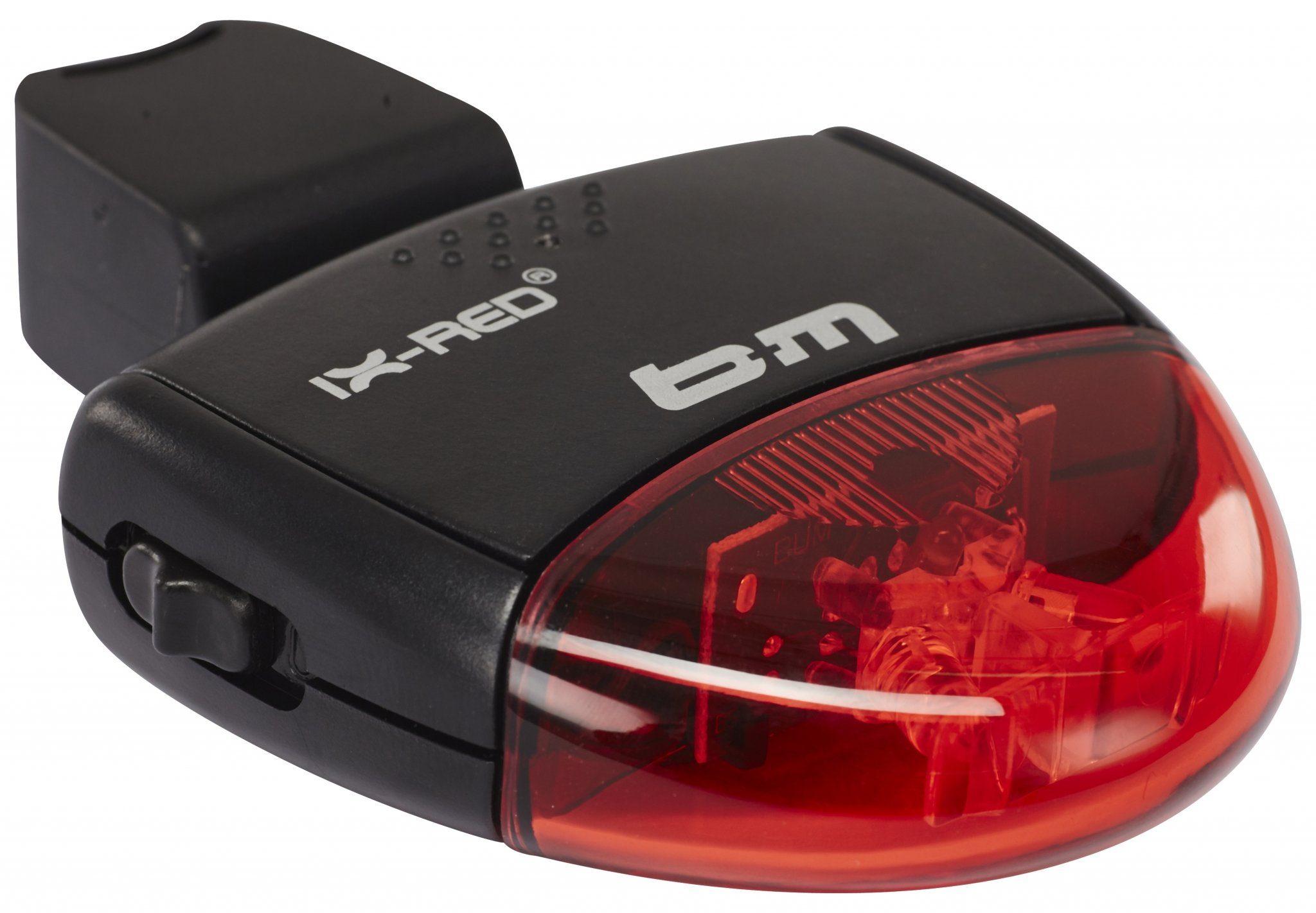 Busch + Müller Fahrradbeleuchtung »Busch + Müller IX-RED Batterie-Rücklicht«