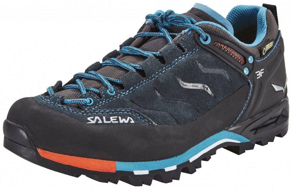 Salewa Kletterschuh »MTN Trainer GTX Alpine Approach Shoe Women« in schwarz