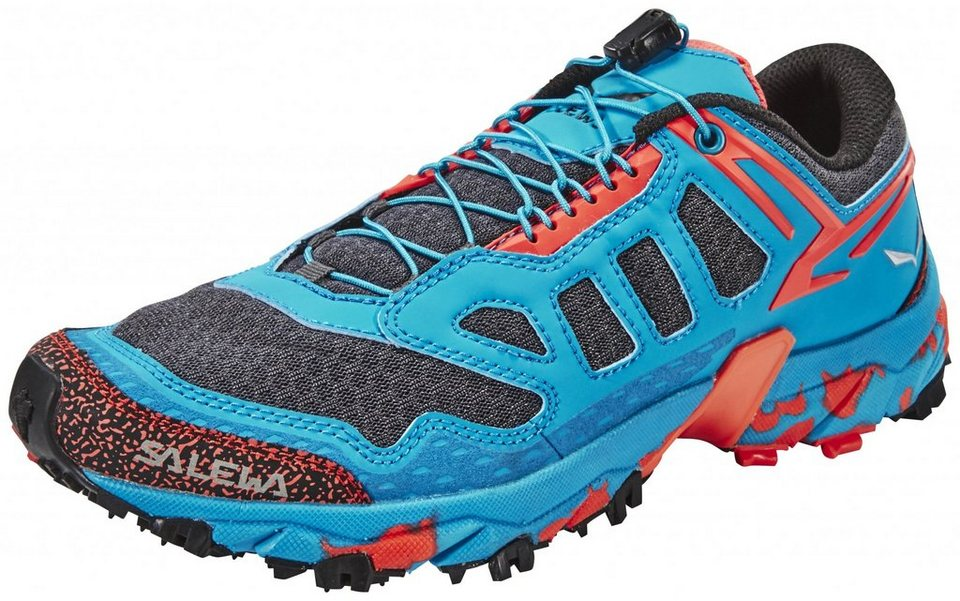 Salewa Runningschuh »Ultra Train Trailrunning Shoes Women« in blau