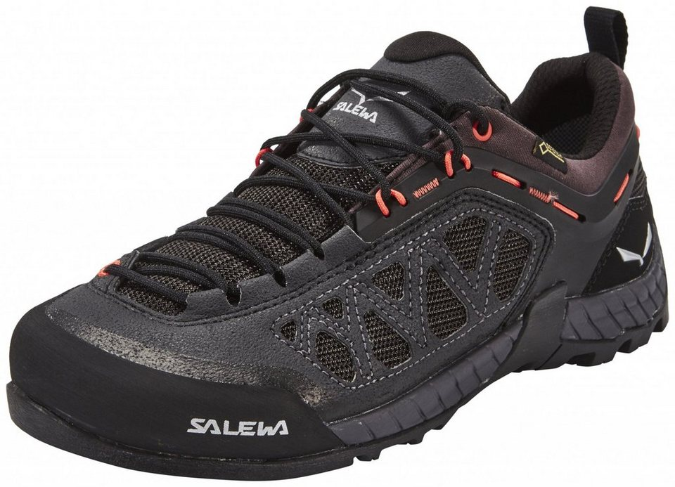 Salewa Kletterschuh »Firetail 3 GTX Approach Shoes Women« in schwarz