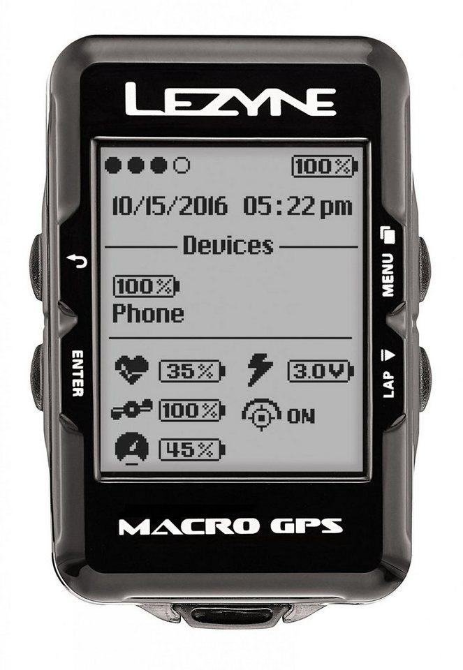 Lezyne Fahrradcomputer »Mini GPS Fahrradcomputer mit Herzfrequenzmessgerät«