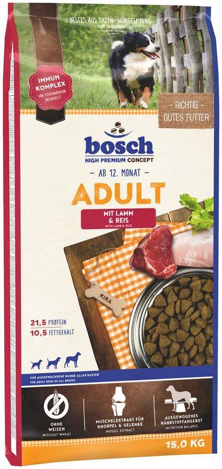 Hundetrockenfutter »Adult Lamm & Reis«, 15 kg in braun