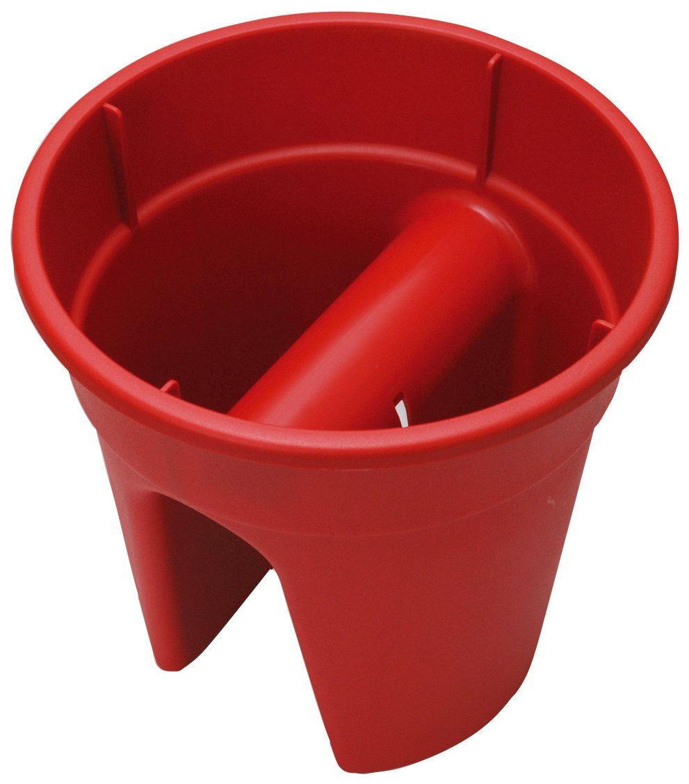 Set: Pflanztopf »Flowerclip«, 3 Stk., rot