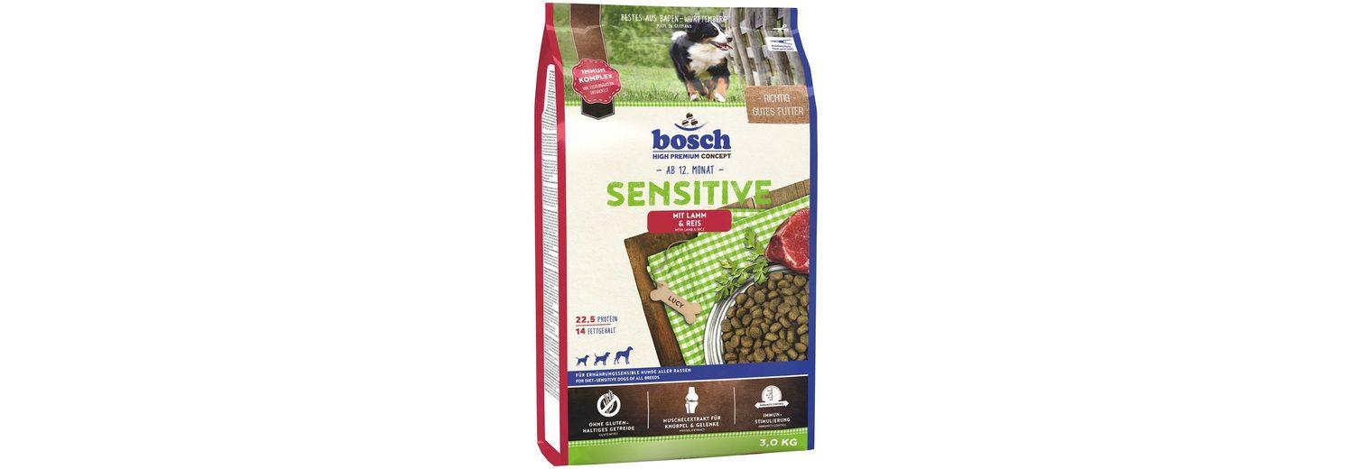 Hundetrockenfutter »Sensitive Lamm & Reis«, 3 kg
