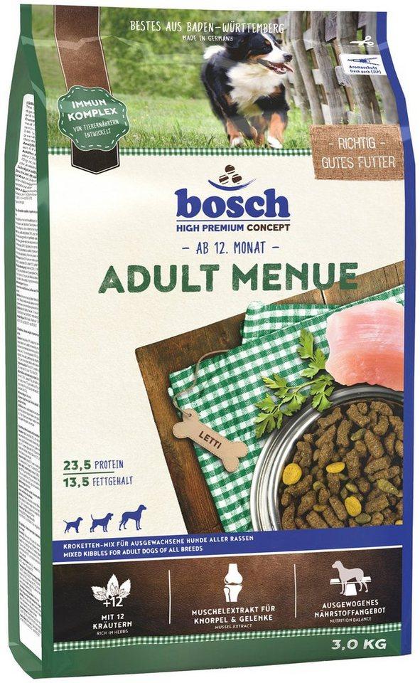 Hundetrockenfutter »Adult Menue«, 3 kg in braun