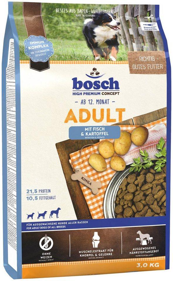Hundetrockenfutter »Adult Fisch & Kartoffel«, 3 kg in braun