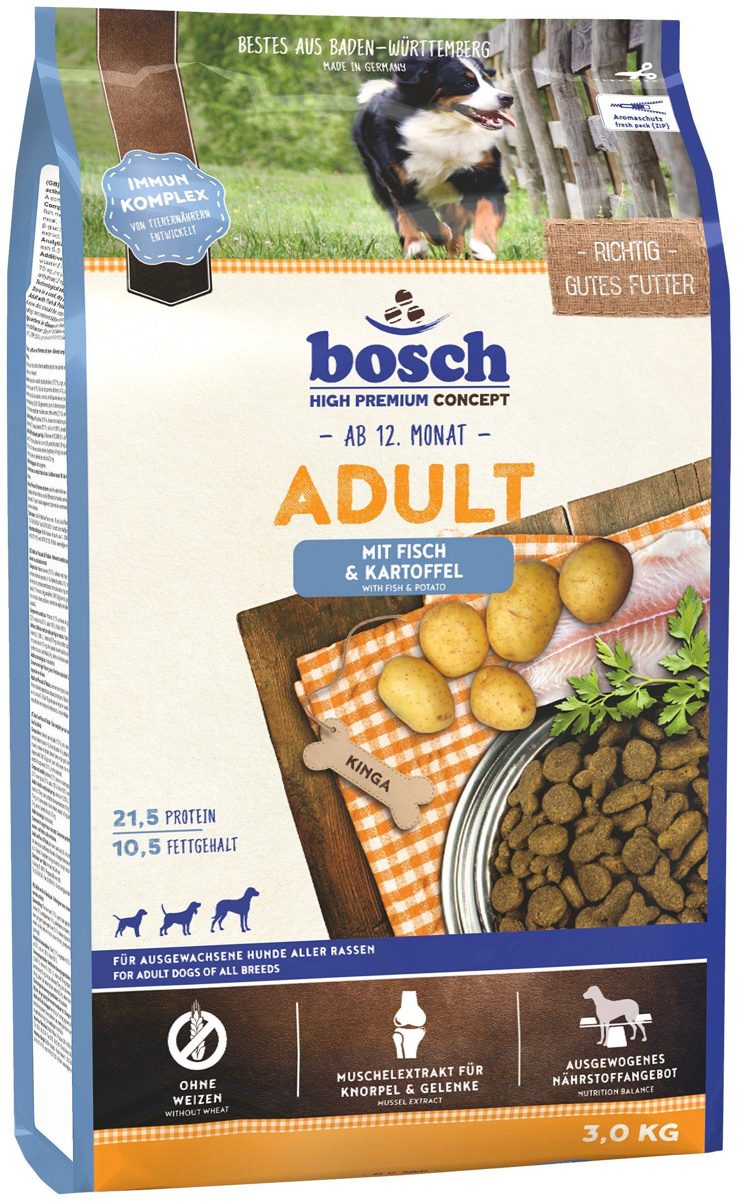 Hundetrockenfutter »Adult Fisch & Kartoffel«, 3 kg