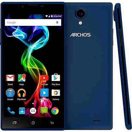 Archos 55 Platinum Smartphone + Powerbank, 13,97 cm (5,5 Zoll) Display, LTE (4G)