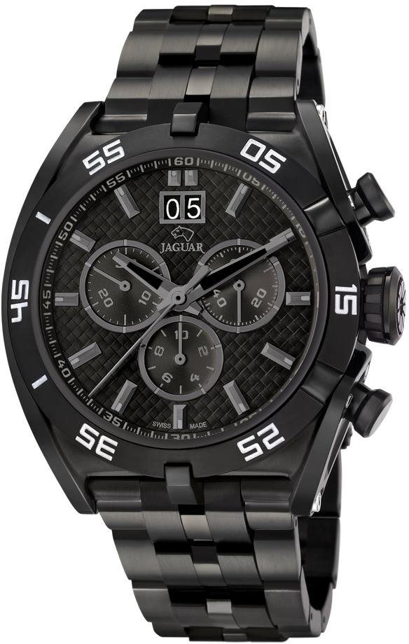 Jaguar Chronograph »Special Edition Swiss Made, J656/1« Mitglied der FESTINA Group in schwarz