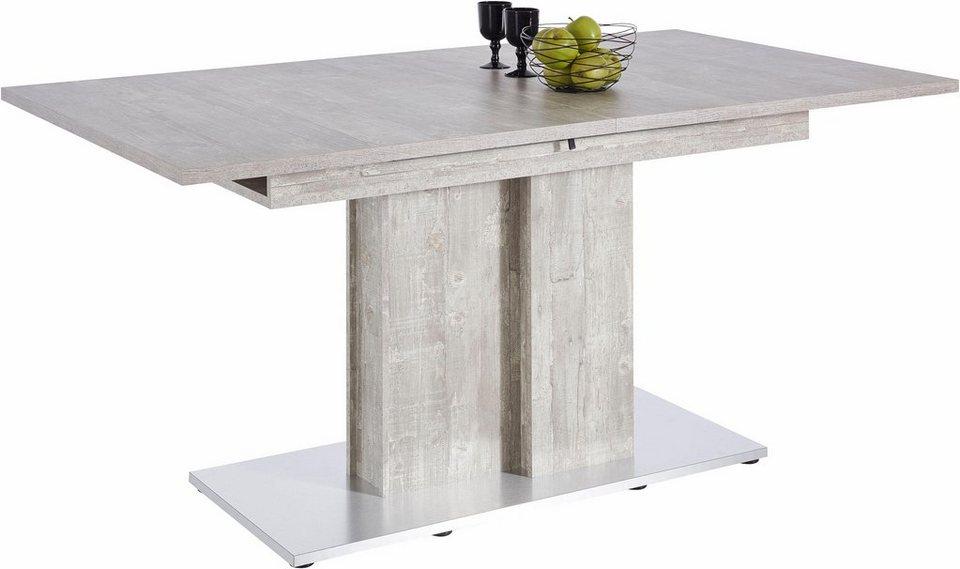 Esstisch, Breite 160 cm in Beton-Optik