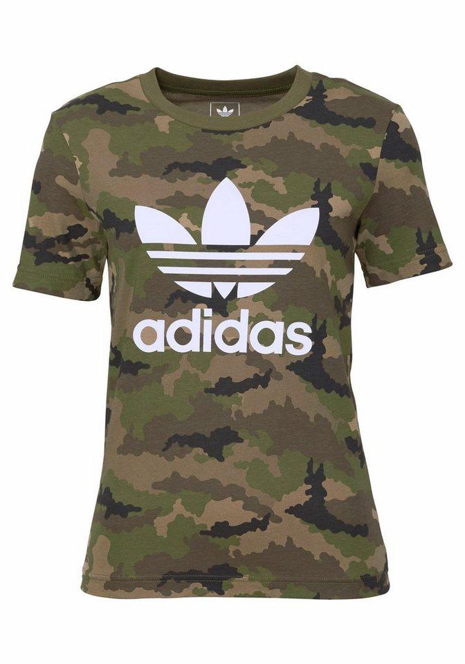 adidas Originals T-Shirt »J TRF AOP TEE« in tarnfarben