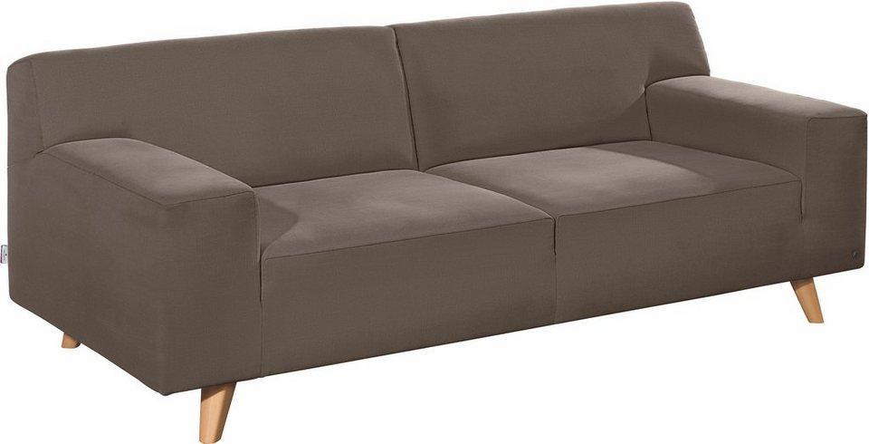 tom tailor 2 sitzer sofa nordic pure im retrolook f e buche natur online kaufen otto. Black Bedroom Furniture Sets. Home Design Ideas