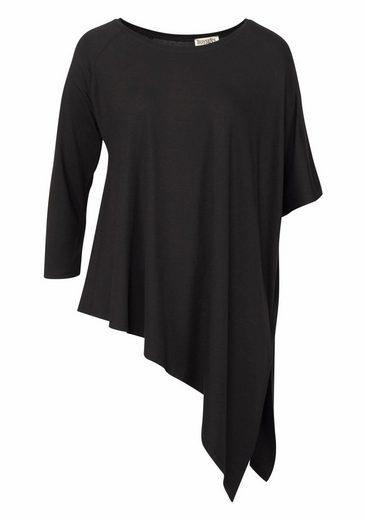 Boysen's Longshirt, mit asymmetrischem Zipfelsaum