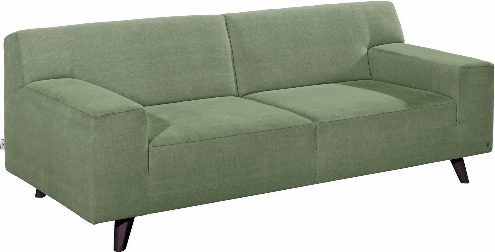 TOM TAILOR 2,5-Sitzer Sofa »NORDIC PURE« im Retrolook, Füße wengefarben