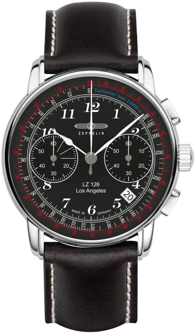 ZEPPELIN Chronograph »Los Angeles, 7614-2«, Made in Germany - broschei