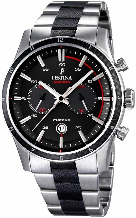 Festina Chronograph »F16819/3« in silberfarben-schwarz
