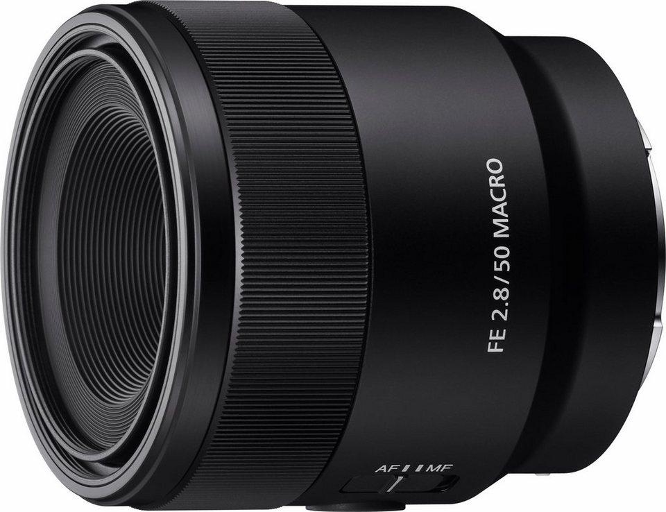 Sony SEL50M28.SYX Makro Objektiv in schwarz