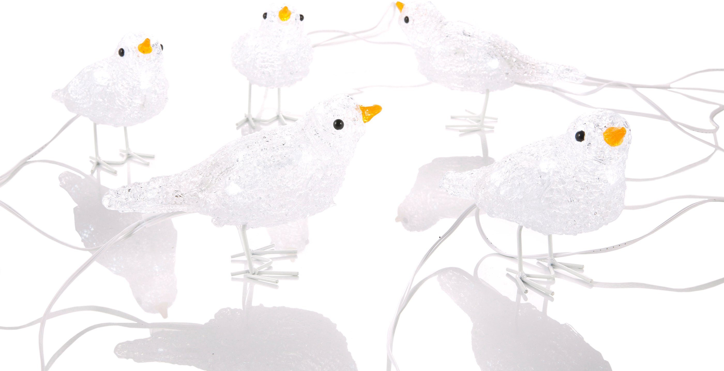 Konstsmide LED-Vögel