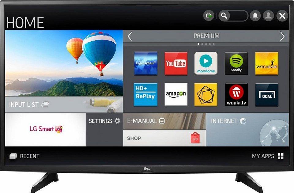 LG 43UH610V, LED Fernseher, 108 cm (43 Zoll), 2160p (4K Ultra HD), Smart-TV in schwarz