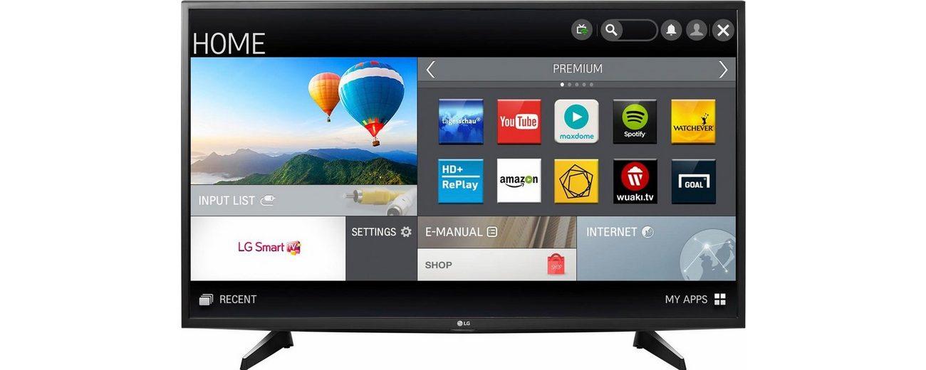 LG 43UH610V, LED Fernseher, 108 cm (43 Zoll), 2160p (4K Ultra HD), Smart-TV