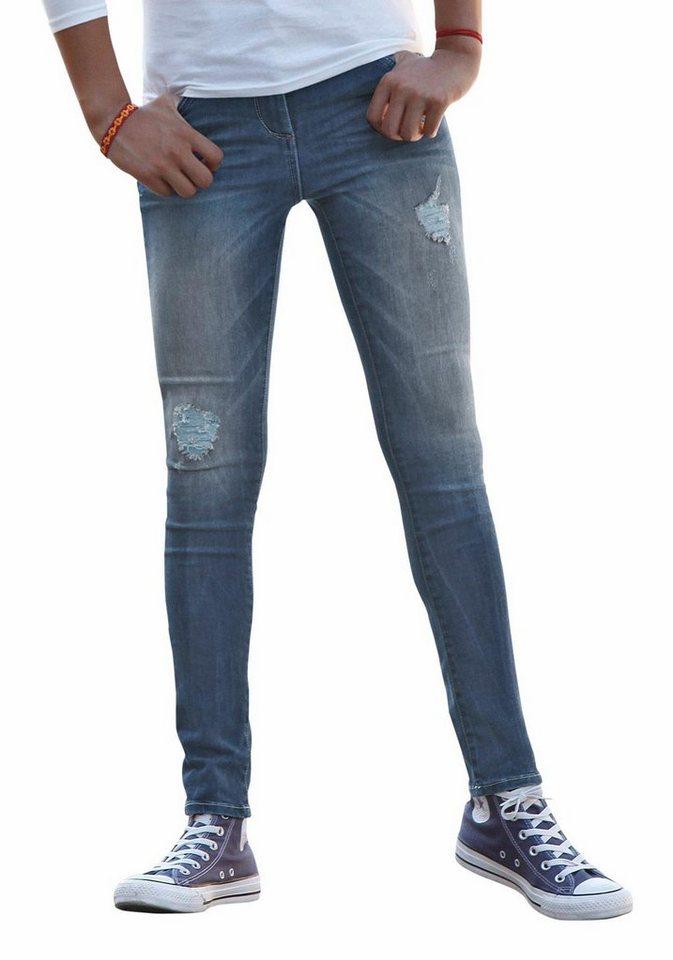 s.Oliver RED LABEL Junior 5-Pocket-Jeans in blue