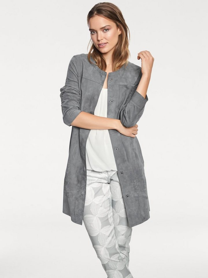 heine STYLE Ledermantel mit Taschen online kaufen   OTTO 8dc77c2918