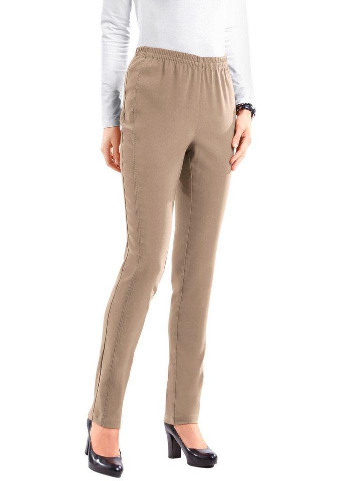 Classic Basics Hose in aktuellen Gewürzfarben in taupe