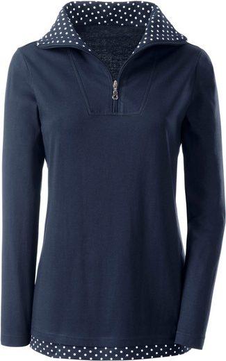 Classic Basics 2-in-1-Shirt mit Tupfendessin