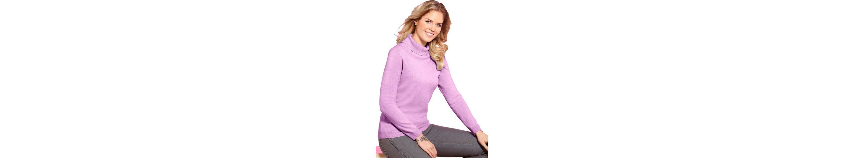 Auslass Sehr Billig Besuchen Online-Verkauf Neu Classic Basics Pullover mit kuscheligem breitem Rollkragen 6pWRa5T