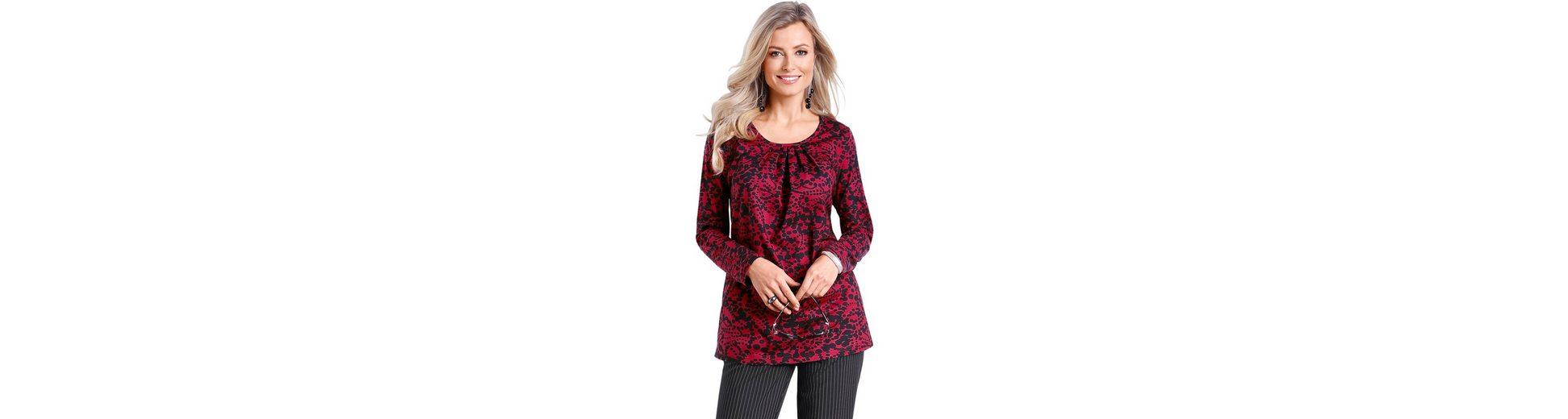 Classic Basics Longshirt in leichter A-Form Viele Arten Von Zum Verkauf Manchester Zum Verkauf wjz6bpo