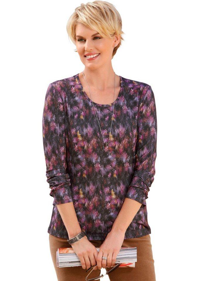 Collection L. Shirt mit hübschen Druck in bunt-bedruckt