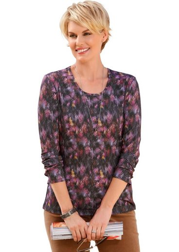 Collection L. Shirt With Pretty Print