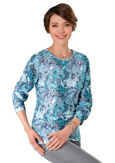 Classic Basics Winter-Shirt in attraktivem Paisleydessin