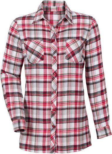 Classic Basics Bluse aus wärmendem Flanell