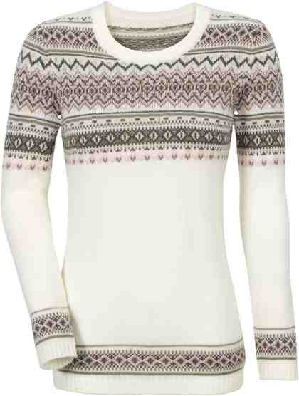 Classic Basics Pullover mit Norweger-Muster