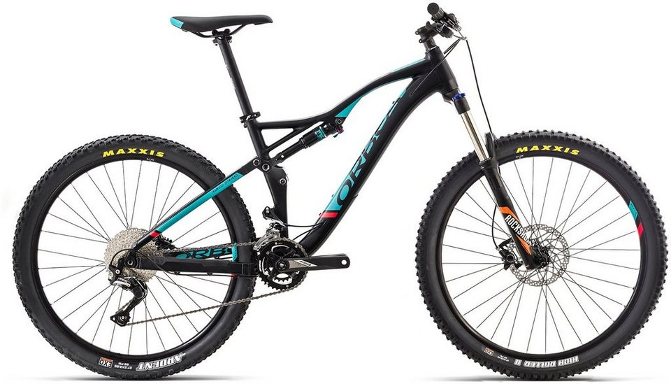 ORBEA Fully Mountainbike, 27,5, 22 Gang Shimano SLX Kettenschaltung, »Occam AM H50« in schwarz-grün