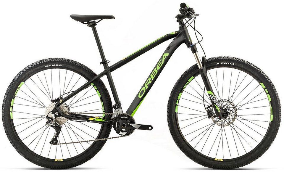 ORBEA Hardtail Mountainbike, 29 Zoll, 22 Gang Shimano SLX Kettenschaltung, »MX MAX« in schwarz-grün-gelb