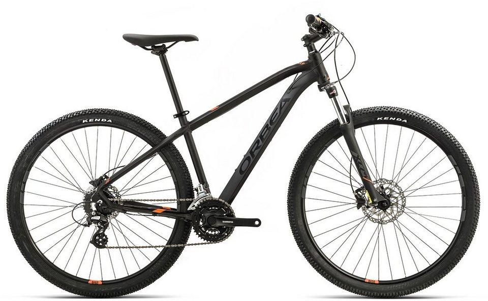 ORBEA Hardtail Mountainbike, 27,5 Zoll, 24 Gang Shimano Altus Kettenschaltung, »MX 40« in schwarz-orange