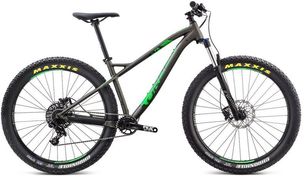 ORBEA Hardtail Mountainbike, 27,5 Zoll, 11 Gang SRAM NX Kettenschaltung, »Loki H20 27+« in anthrazit-grün