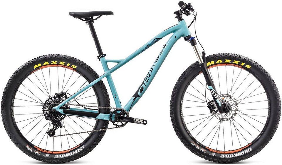 ORBEA Hardtail Mountainbike, 27,5 Zoll, 11 Gang Shimano SLX Kettenschaltung, »Loki H30 27+« in blau-schwarz