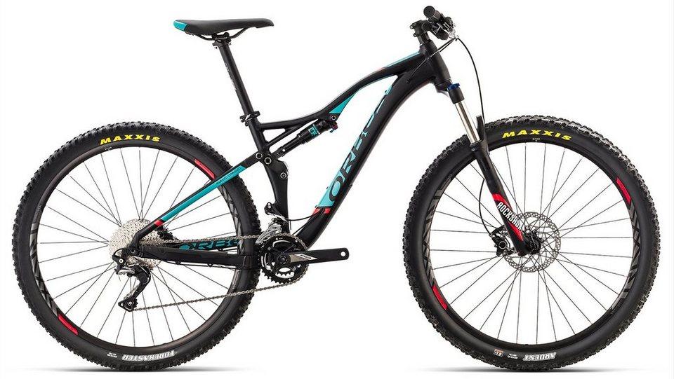 ORBEA Fully Mountainbike, 29 Zoll, 22 Gang Shimano SLX Kettenschaltung, »Occam TR H50« in schwarz-grün