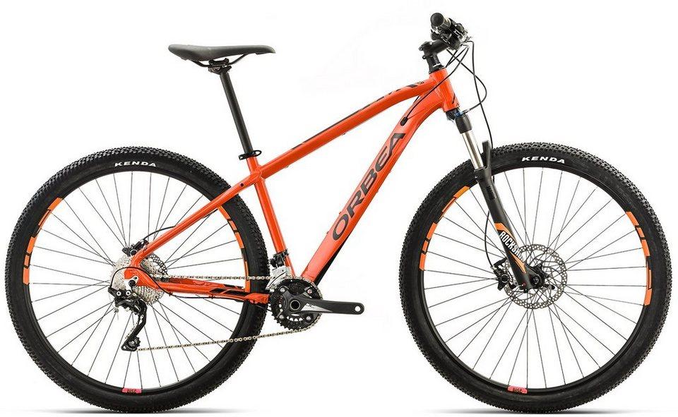 ORBEA Hardtail Mountainbike, 27,5 Zoll, 20 Gang XT Kettenschaltung, »MX 10« in orange-schwarz