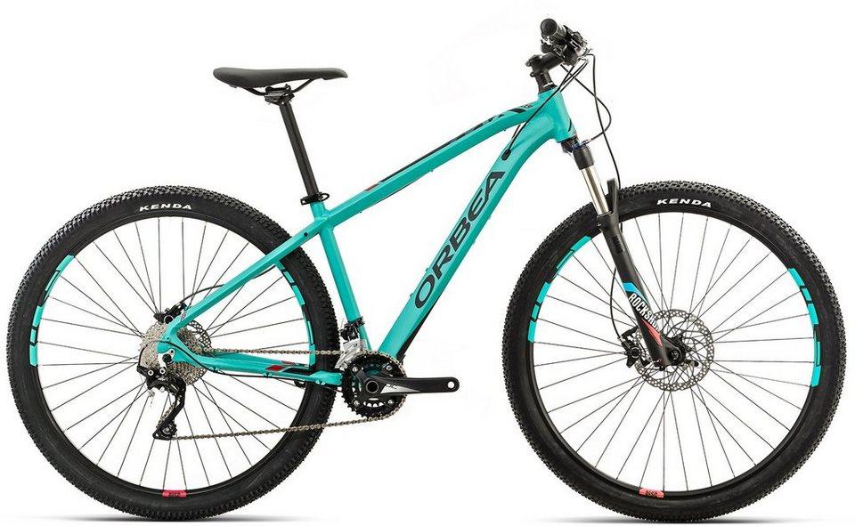 ORBEA Hardtail Mountainbike, 29 Zoll, 20 Gang XT Kettenschaltung, »MX 10« in grün-rot